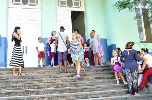 A pesar de haberse implementado una organización del proceso docente, no fue suficiente para impedir interpretaciones erradas de algunos docentes. Foto: Ismael Batista