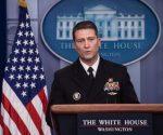 Según declaraciones a la prensa de Ronny Jackson, el médico de la Casa Blanca, Trump tiene un «excelente» estado físico y mental. Foto: AP