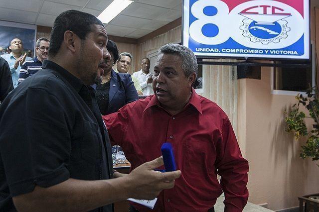 Saúl Méndez Rodríguez, secretario general del Sindicato Único de Trabajadores de la Industria de la Construcción Similares (Suntracs) de Panamá. Foto: René Pérez Massola