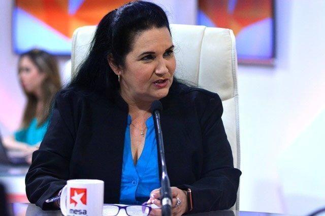 Mabel Manso Delgado, directora general de Radio Rebelde