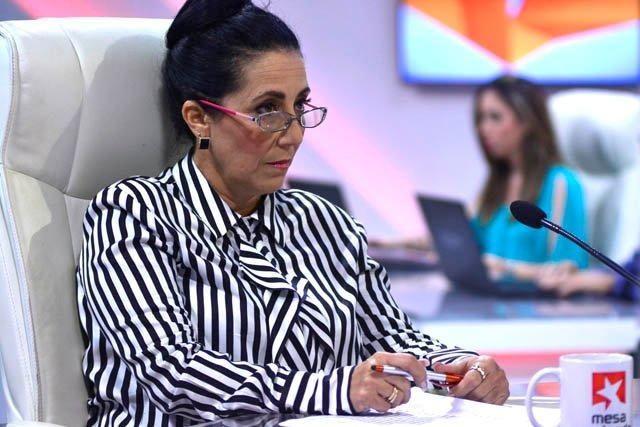 Laslinda Mondeja González, directora técnica de la Radio Cubana.