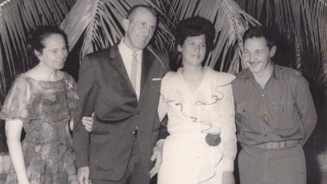 Raúl y Vilma participaron en la boda de Asela y Fernández
