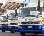 Camiones recogedores de desechos, HINO