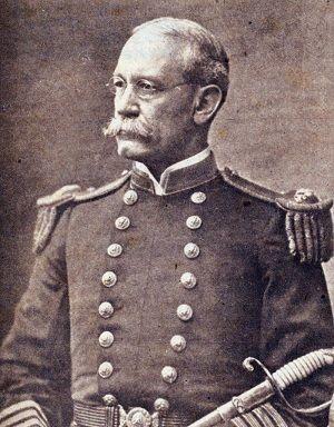Charles Dwight Sigbee, comandante del acorazado USS Maine. Revista Bohemia. Foto: Bohemia