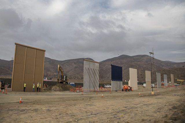 Trump incluye en el presupuesto la construcción del muro fronterizo