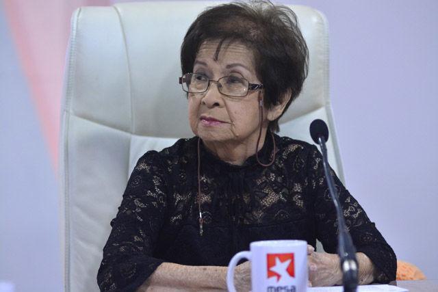Dra. Thalía Fung Riverón, Presidenta de la Sociedad Cubana de Investigaciones Filosóficas