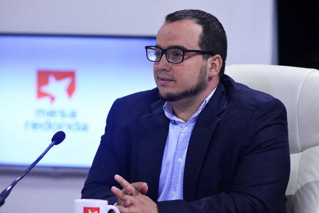 Lic. Sergio Alejandro Gómez Gallo, Jefe de la Página Internacional del Diario Granma