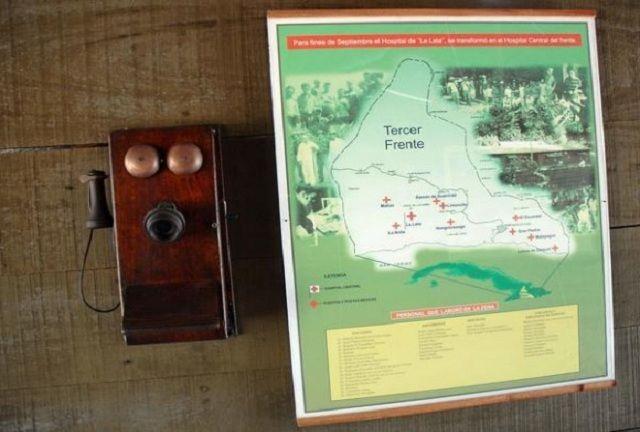 Las montañas del III Frente eran una ubicación estratégica, una coordenada de difícil acceso, es por eso que allí ubicó su comandancia el Comandante Almeida.