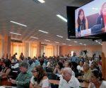 El II Foro de la sociedad civil «Pensando Américas» reunió a cerca de 200 miembros de las organizaciones de masas, estudiantiles, campesinas, científicas y técnicas, culturales y recreativas de nuestro país. Foto: Dunia Álvarez