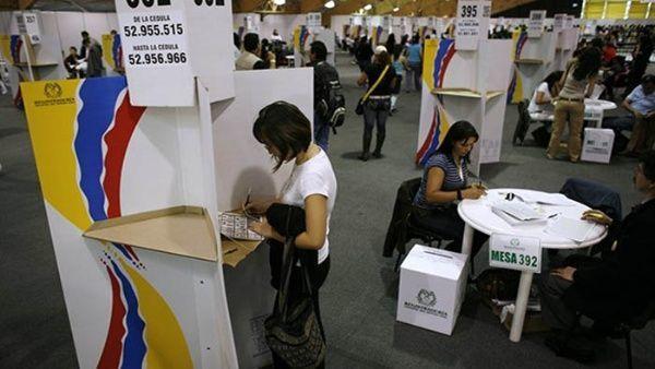 En los comicios de 2014 participó menos del 50 por ciento de la población electoral. | Foto: El Tiempo