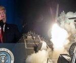 Donald Trump ordena lanzar misiles contra Siria