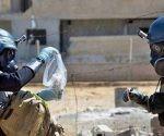 Inspectores de la OPAQ en Siria
