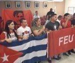 La representación juvenil cubana que está en Perú descuella por su alegría y sus seLa representación juvenil cubana que está en Perú descuella por su alegría y sus sentimientos solidarios.ntimientos solidarios.