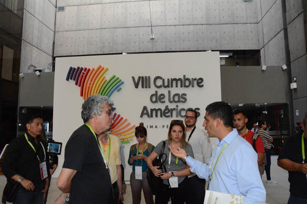 En Perú rechazan exclusión en Cumbre de las Américas