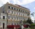 El hotel Sagua, una joya arquitectónica rescatada para orgullo de ese pueblo. Foto: Freddy Pérez Cabrera