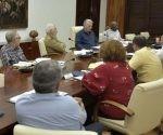 Díaz-Canel calificó esas áreas de la economía de fundamentales para el desarrollo sostenible de la isla.