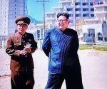 Kim Jong Un, visitó obras en construcción del polo turístico que se levanta en la famosa playa Myongsasipri.