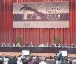 Miguel Díaz-Canel, asiste hoy aquí a la inauguración del IX Encuentro Internacional Justicia y Derecho.