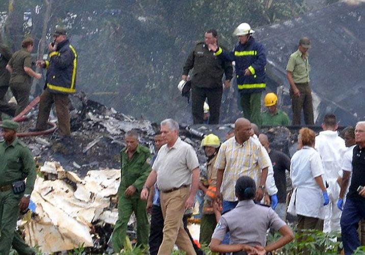 Risultati immagini per incidente aereo a cuba cubadebate