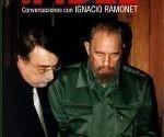 Cubierta del libro «Cien horas con Fidel», de Ignacio Ramonet Foto: Internet