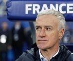 Didier Deschamps entrenador del equipo de fútbol de Francia