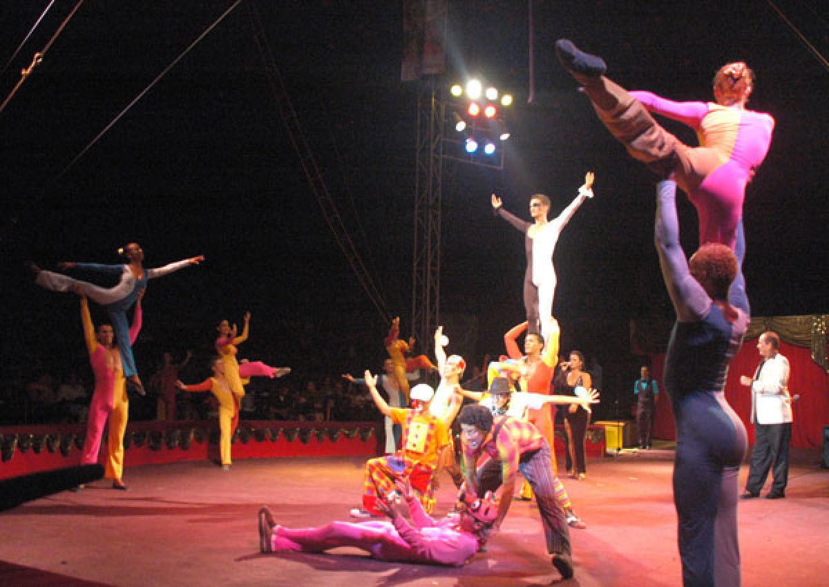 Actuará en Málaga Compañía Havana del Circo Nacional de Cuba