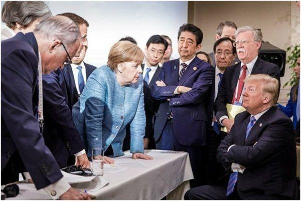 Provocaciones de Trump ante el ¿G-6?