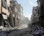 Destrozos de la Ciudad en Siria