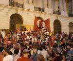 Gran cantidad de brasileños se movilizaron en favor de Lula. Foto: Brasil de Fato