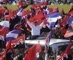 Raúl y Díaz-Canel envían mensaje al pueblo nicaragüense
