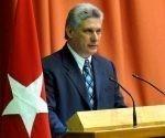 Miguel Díaz-Canel Bermúdez, Presidente de los Consejos de Estado y de Ministros de Cuba inicia visita a Matanzas.