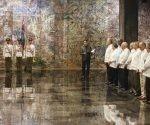 Ceremonia de juramento de nuevos embajadores cubanos, presidida por Miguel Díaz-Canel. Foto: Ariel Ley Royero