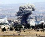 Este ataque demuestra el apoyo del Gobierno israelí a los actos terroristas perpetrados, según declaraciones de la milicia siria. Foto: Reuters