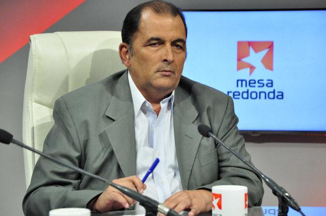 Oscar Sánchez Serra, subdirector del diario Granma y periodista especializado en temas deportivos.