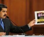 El mandatario venezolano instó a los Gobiernos de EE.UU. y Colombia a colaborar en la captura de los responsables intelectuales del hecho. Foto: Prensa Presidencial