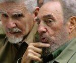 Ramiro Valdés y Fidel Castro. Foto: Archivo