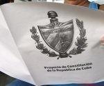 Llega a la población un millón de tabloides del Proyecto de Constitución de la República de Cuba