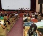 Preside Ministro de Educación Superior Reunión de análisis del curso escolar en la Universidad Central. Foto: Tomada del perfil en Facebook de Gricelys Moreno García.