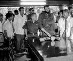 Fidel Castro en su visita a VietNam