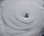 Huracán Florence visto desde el Cosmo