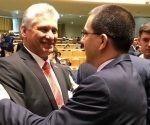 Miguel Díaz-Canel, continúa hoy las actividades relacionadas con su participación en la Asamblea General de la ONU.