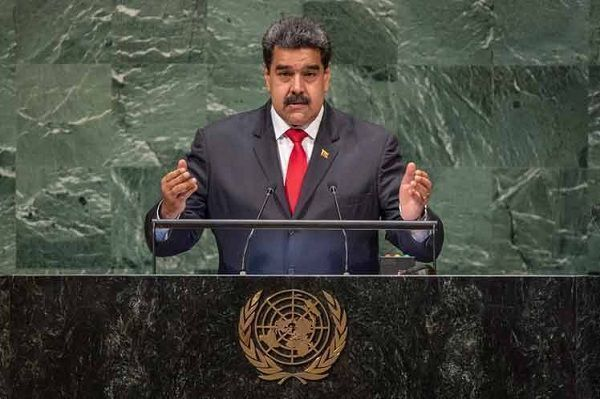 President of Venezuela, Nicolas Maduro, at the United Nations.