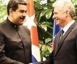 El Presidente de Venezuela Nicolás Maduro dio la bienvenida a su homólogo cubano Miguel Díaz-Canel Bermúdez en Twitter.