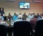 Miguel Díaz-Canel Bermúdez evaluó la situación de la gestión económica del comercio y la gastronomía en la provincia de Camagüey.