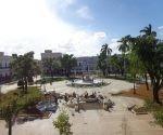 El Parque de La Libertad cambia su imagen. Foto: Noryis