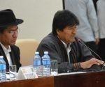 Evo Morales en la Cumbre del ALBA-TCP