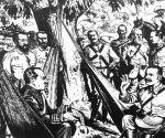 Antonio Maceo en la Protesta de Baraguá un 15 de Marzo de 1878
