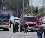 Según la Fiscalía, el agresor ingresó al recinto a bordo de una camioneta cargada con 80 kilogramos de pentolita. | Foto: EFE