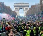 Chalecos Amarillos en Francia cumplen tres meses de protestas