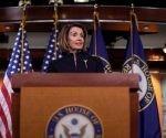 Nancy Pelosi, anunció que el martes se votará una resolución para detener la medida de Trump, que calificó de inconstitucional.